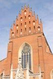 De kerk van Polen, Krakau - van Dominicaan Royalty-vrije Stock Foto's