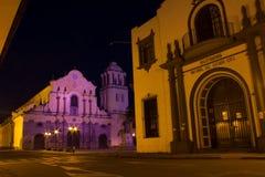 De Kerk van Popayan Royalty-vrije Stock Foto's