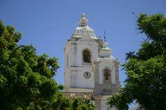 De kerk van Portugalian Royalty-vrije Stock Afbeeldingen