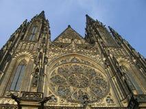 De kerk van Praga Stock Foto