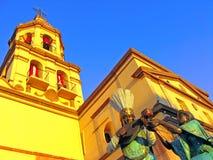 De Kerk van Queretaro Royalty-vrije Stock Foto's