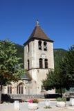 De Kerk van Quezac Royalty-vrije Stock Afbeeldingen