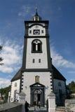 De kerk van Roeros royalty-vrije stock foto's