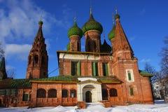 De kerk van Rusland Stock Afbeeldingen