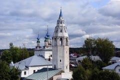 De Kerk van Rusland, van witte steen, Orthodox Christendom, Royalty-vrije Stock Afbeelding