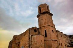 De kerk van Saint Laurent, Marseille, Frankrijk. Royalty-vrije Stock Fotografie