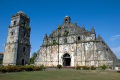 De Kerk van San Agustin stock foto's