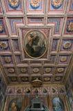 De kerk van San Cosimato in Rome Stock Afbeelding