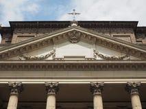 De kerk van San Filippo Neri in Turijn stock fotografie