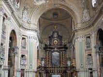De kerk van San Filippo Neri in Turijn royalty-vrije stock foto