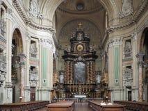 De kerk van San Filippo Neri in Turijn royalty-vrije stock afbeeldingen