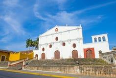 De kerk van San Francisco in Granada Nicaragua Royalty-vrije Stock Fotografie