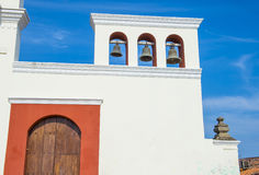De kerk van San Francisco in Granada Nicaragua Royalty-vrije Stock Afbeelding