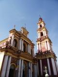 De kerk van San Francisco in Salta, Argentinië stock foto