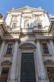 De kerk van San Gaetano Thiene, ook genoemd Teatini, is een godsdienstig die gebouw, in Vicenza langs Corso Palladio wordt gevest stock afbeelding