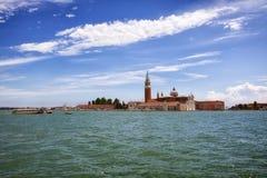 De kerk van San Giorgio Maggiore, Venetië Stock Fotografie