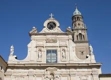 De kerk van San Giovanni Evangelista, Parma Royalty-vrije Stock Afbeeldingen