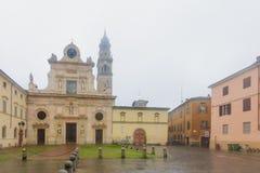 De kerk van San Giovanni Evangelista, Parma Royalty-vrije Stock Foto's
