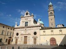 De kerk van San Giovanni in Parma Stock Foto's