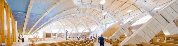De kerk van San Giovanni Rotondo door Renzo Piano stock foto