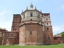 De kerk van San Lorenzo, Milaan royalty-vrije stock foto's