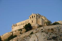 De kerk van San Matteo in Scicli Stock Afbeelding