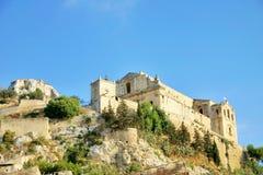De kerk van San Matteo in Scicli (Sicilië) Stock Afbeelding