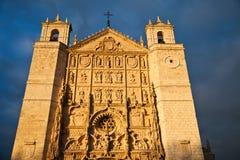 De kerk van San Pablo, Valladolid Stock Afbeeldingen