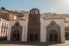 De kerk van San Sebastian de La Gomera Stock Fotografie