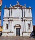 De kerk van San Tomà, Venezia Royalty-vrije Stock Afbeeldingen