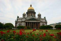 De kerk van Sanitisaac in St. Petersburg Stock Afbeeldingen
