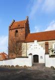 De Kerk van Sanktjorgensbjerg, Roskilde Stock Afbeeldingen