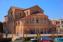 De Kerk van Santa Maria e San Donato stock afbeelding