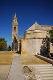 De kerk van Santa Maria, Estepa, Spanje. Royalty-vrije Stock Foto's