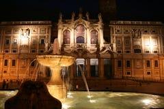 De Kerk van Santa Maria in Rome Royalty-vrije Stock Fotografie