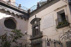De kerk van Santi Filippo en van Giacomo royalty-vrije stock afbeelding