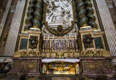 De kerk van Santignazio, Rome, Italië Royalty-vrije Stock Foto