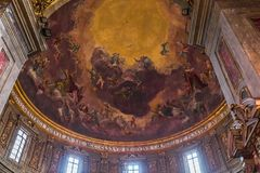 De kerk van Santissimaannuziata, Florence, Italië Royalty-vrije Stock Fotografie