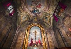 De kerk van Santissimaannuziata, Florence, Italië Stock Foto