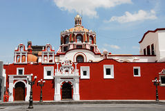 De kerk van Santo Domingo Stock Afbeeldingen