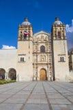 De kerk van Santo Domingo de Guzman in Oaxaca Mexico Stock Afbeelding