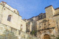 De kerk van Santo Domingo de Guzman in Oaxaca Mexico Royalty-vrije Stock Afbeeldingen