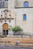 De kerk van Santo Domingo de Guzman in Oaxaca Mexico Royalty-vrije Stock Afbeelding