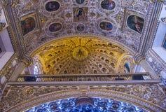 De kerk van Santo Domingo de Guzman in Oaxaca Mexico Royalty-vrije Stock Foto's