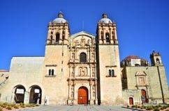 De Kerk van Santo Domingo in voorzijde Oaxaca Royalty-vrije Stock Fotografie