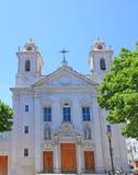 De kerk van Sao Paulo in Lissabon, Portugal royalty-vrije stock fotografie