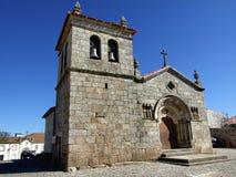 De kerk van Sernancelhe Stock Foto's