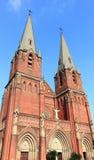 De kerk van Shanghai XUJiaHui Stock Foto's