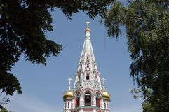 De Kerk van Shipka royalty-vrije stock foto