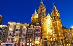 De Kerk van Sinterklaas Royalty-vrije Stock Foto's